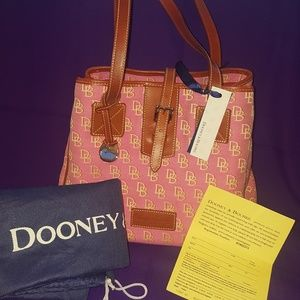 Pink Medium Dooney & Bourke